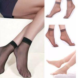 New Set Of 4 Pair Sheer Women's Silky Socks